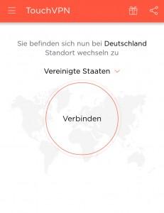 Screenshot Touch VPN